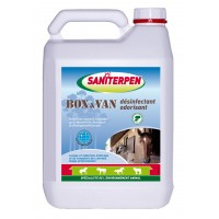 Saniterpen désinfectant odorisant Box et Van 5L