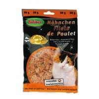 Filet de poulet pour chat 50g - Bubimex