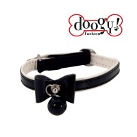Collier pour chat butterfly noir