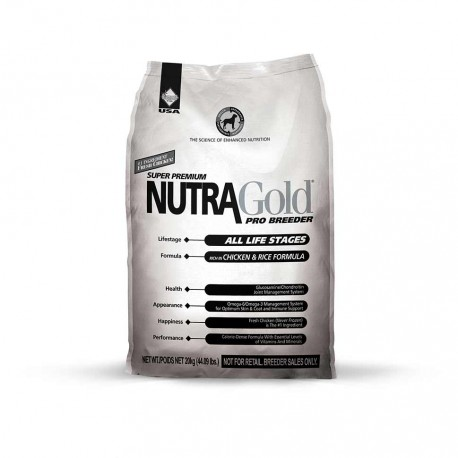Croquettes pour chien Nutra Gold Breeders
