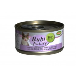Bubi Nature pour chat Thon&Poisson blanc