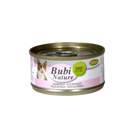 Bubi nature pour chat Filet de poulet