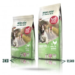 Croquettes bewi dog sensitive Grain free