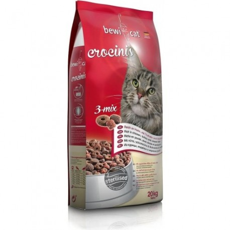 Croquette bewi cat crocinis 20kg