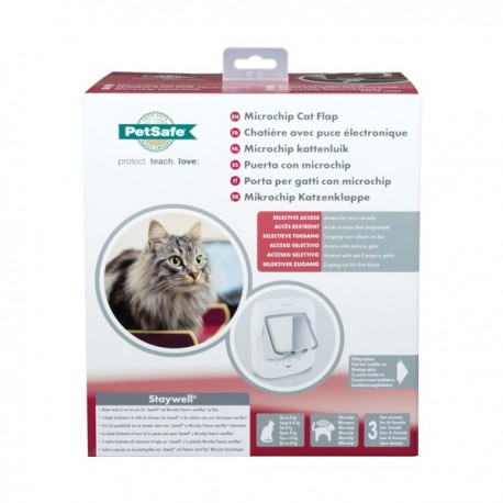 Chatière microchip cat flap