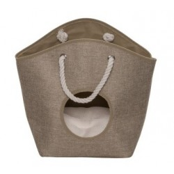 Panier homecollection Pet-cave laundry bag beige