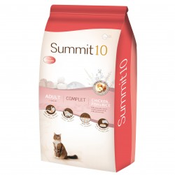 Croquette Summit 10 cat complet adult poulet et riz