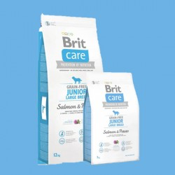 Croquettes Brit Care junior large breed salmon & potatoes