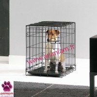 Cage caisse 50 cm transport pliante métal Savic dog cottage chien chat animaux