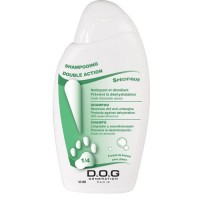 Shampooing pour chien 250ml Double Action